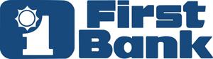 11037 First Bank Logo horizontal stacked