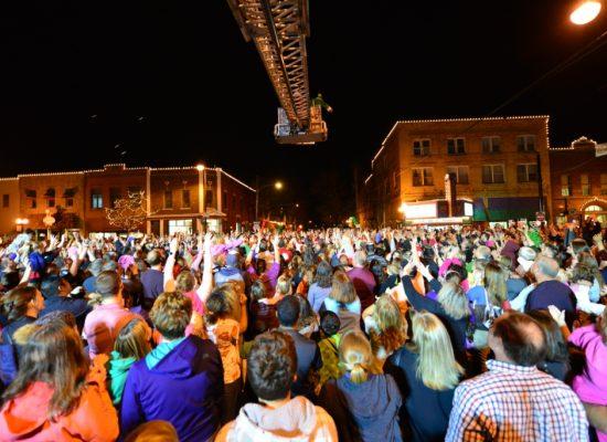 Ladder Truck over Crowd 2