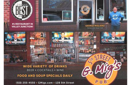 *G Mig's 5th Street Pub