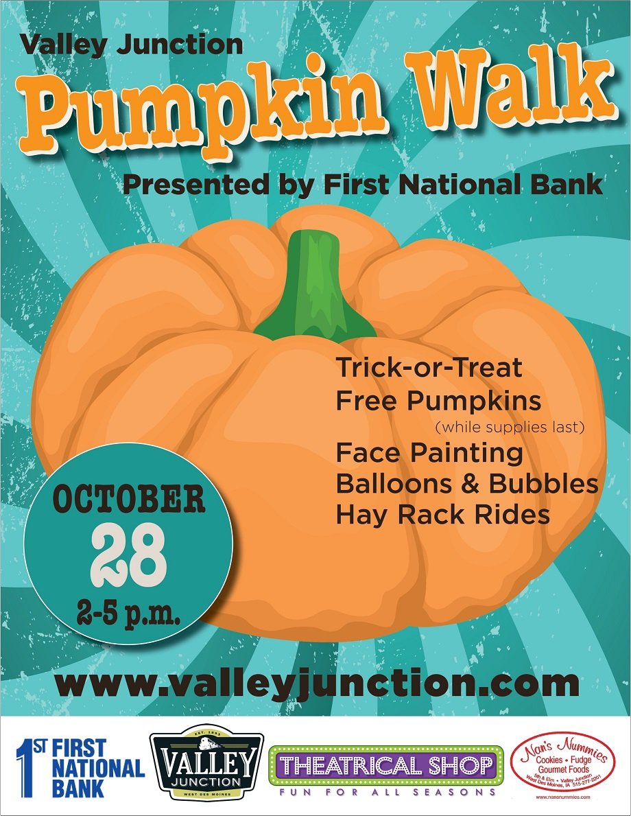 pumpkin walk - valley junction