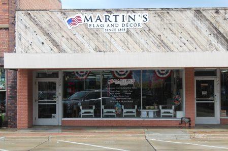 *Martin's Flag and Decor
