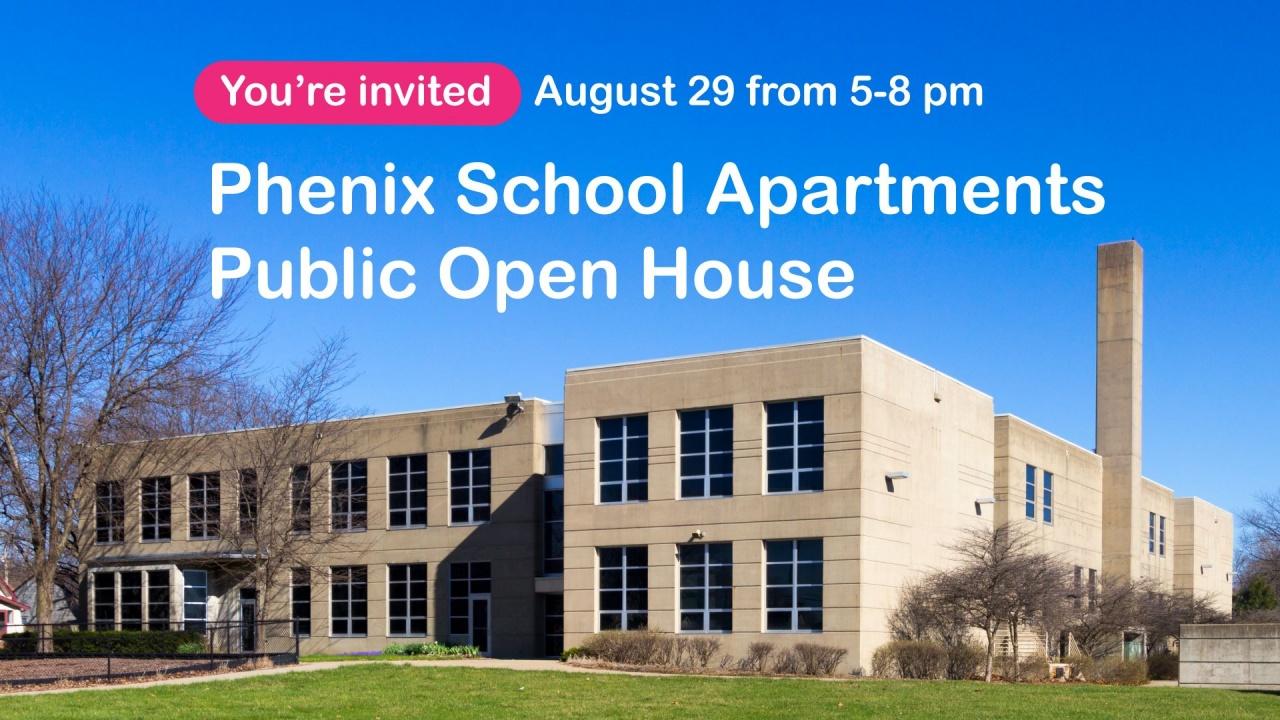 phenix school apartments open house valley junction